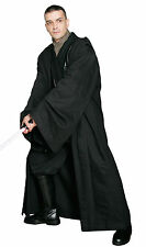 Black JEDI / SITH ROBE Only - Excellent Quality Costume Cloak