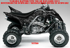 Invision décor Graphic Kit ATV yamaha raptor yfm 125/250/350/660/700 NITRO B