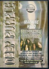 DVD ALL ZONES DOCUMENTAIRE MUSIQUE--DEEP PURPLE--MACHINE HEAD