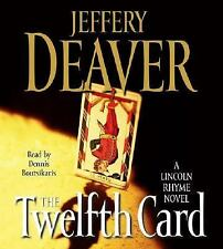 THE TWELFTH CARD BY JEFFERY DEAVER - GREAT AUDIO BOOK WITH FREE SHIPPING