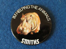 Vintage Badge - Smiths Crisps - WWF - I'm Helping the Animals - 1975 - Hippo