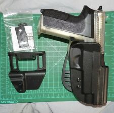 Uncle Mike's 5422-1 RH Tactical Kydex Paddle Belt Holster SIG SAUER P220 P226