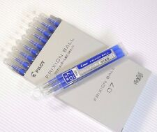 30pcs pilot FriXion ball 0.7 refill JAPAN plastic case BLUE ink Wholsale