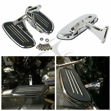 Chrome Streamline Passenger Floor Board & Bracket Set For Harley Touring 93-16