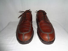 COACH Men's Brown Leather Oxfords Casual Dress Shoe FORD SZ 11D Italy.