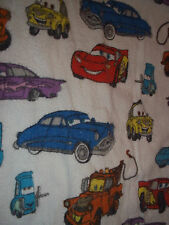 Cars Disney Pixar Toddler Bed Flannel Sheet Set