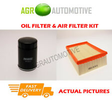 PETROL SERVICE KIT OIL AIR FILTER FOR FORD ESCORT 1.4 75 BHP 1994-95