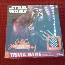 Star Wars Trivia Game Darth Vader Cover ~Brand-New~ Plastic Sealed Box 650+