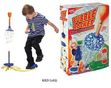 Kids Bubble Rocket Stomp Jump Jet Launcher Christmas Gift Stocking Filler Toys