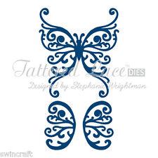 Tattered dentelle découpe dies merveilleux ailes D024 Stephanie Weightman réduit