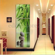 HD Huge Bamboo Stone Picture Canvas Painting Modern Home Wall Decor Art Unframed