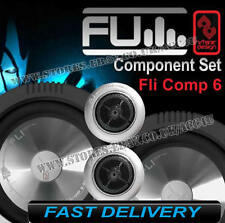 "FLI Audio Integrator Comp 6 6"" inch Car Van Door Component Speakers System Set"