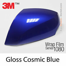 10x20cm FILM Gloss Cosmic Blue 3M 1080 G377 Vinyle COVERING Series Wrapping