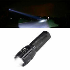 HOT XM-L T6 Zoomable LED NEW Torch Light Hot Flashlight 5000LM AAA 2016