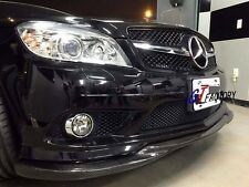 CARBON FRONT LIP SPOILER GH STYLE FOR MERCEDES W204 AMG PACKAGE PRE FACELIFT