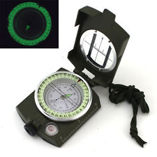 NEW Pocket Military Army Geology Metal Compass Outdoor Camping Hiking Tool Gift