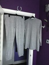 LADIES SOFT JERSEY TRACKSUIT ~ TOP Size 22 / BOTTOMS Size 20 ~ WORN ONCE ~