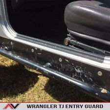 Door Sill Entry Guard Protection Fits: Jeep Wrangler TJ 1997-2006 Free Ship!