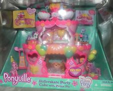 NEW My Little PONY Ponyville Rollerskate Party Cake Pinkie Pie Birthday