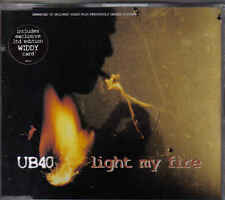 UB 40-Light my fire cd maxi single incl Widdy Card