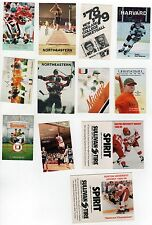 COLLEGE SPORTS Schedule Lot HOCKEY Baseball MIAMI BU Boston University HARVARD