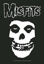 Misfits Skull large fabric poster / flag   1100mm x 750mm (hr)