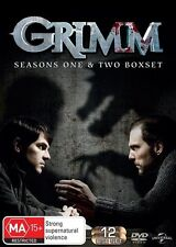 Grimm : Season 1-2 (DVD, 2014, 12-Disc Set) R/4