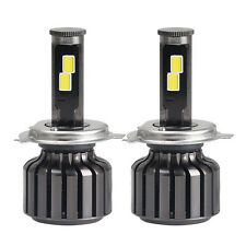 Pair H4 9003 HB2 120W 10000LM LED Headlight Car Kit Hi/Lo Beam Bulbs 6000K