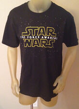 NWT Star Wars THE FORCE AWAKENS Black T-Shirt Mens Large L