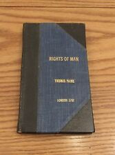 1792 Thomas Paine The Rights of Man London H.D.Symonds Part 1& 2