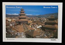 CARTE POSTALE BHAKTAPUR NYATAPOLA TEMPLE  NEPAL TIBET MONTAGNES HIMALAYA 1213