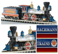 BACHMANN 51174 LOCOMOTIVA a VAPORE JUPITER CENTRAL PACIFIC OLD-WEST OVP SCALA-N