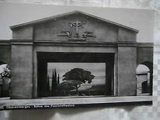 Echt Foto - Postkarte =Oberammergau-Bühne des Passionstheaters=Top Zustand.
