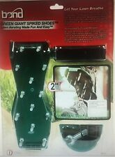 New Bond 9215 Green Giant Spiked Lawn Aerator Shoes