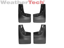 WeatherTech No-Drill MudFlaps for Chevy Silverado - 2015-2016 - Front/Rear Set