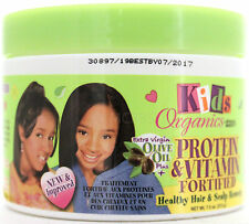 ORGANICS BY AFRICAS BEST KIDS OLIVE OIL PROTEIN VITAMIN HAIR/SCALP REMEDY 7.5 OZ