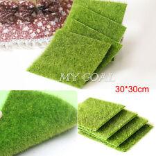 Garden Grass Lawn Moss Miniature Craft Pot Fairy Dollhouse Decor DIY 30*30cm