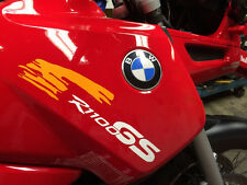 2 Advisi Stickers R1100GS serbatoio moto autoadesivo R 1100 GS f. Fan di BMW