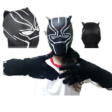 Captain America 3 Civil War Black Panther Cosplay Costume Mask Cos Accessories
