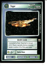 STAR TREK CCG DOMINION RARE CARD TRAGER