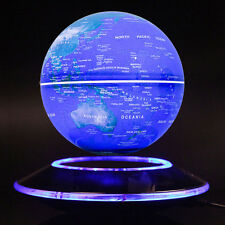 "6"" Magnetic Floating Globe Blue best brithday gifts Night Pearl Office Decor"
