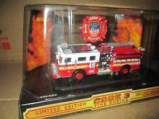 CODE 3 1/64 city new york  pumper  Fire Dept 48  no 12350 SEAGRAVE   truck