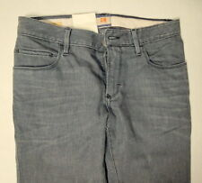 Hugo Boss Jeans Men 33 W x 30 Orange 63 Dublin Gray Slim Fit Brand New with Tags
