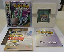 Console Nintendo Game Boy GameBoy Color Play ITALIANO POKEMON VERSIONE CRISTALLO