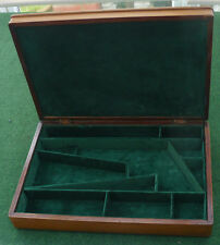 ANTIQUE CASE FOR A COLT OR REMINGTON ARMY PERCUSSION REVOLVER GUN.