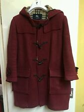 burberry duffle coat large
