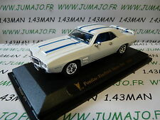 coche 1/43 ROAD SIGNATURE : Pontiac firebird Trans am 1969 blanco