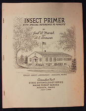 Original 1959 Insect Primer with Special Reference to Forests Maine