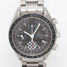 Pre-owned OMEGA Speedmaster Day-Date Racing Michael Schumacher Limited 5555