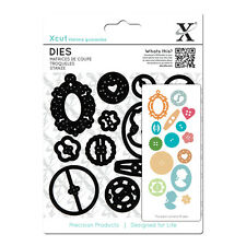 X cut 15 pc dies Buttons Use Xcut, sizzix, big shot, eBosser etc machines